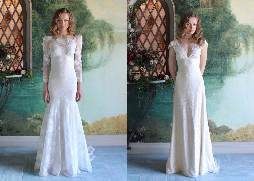 Romantique Wedding Dress Collection By Claire Pettibone