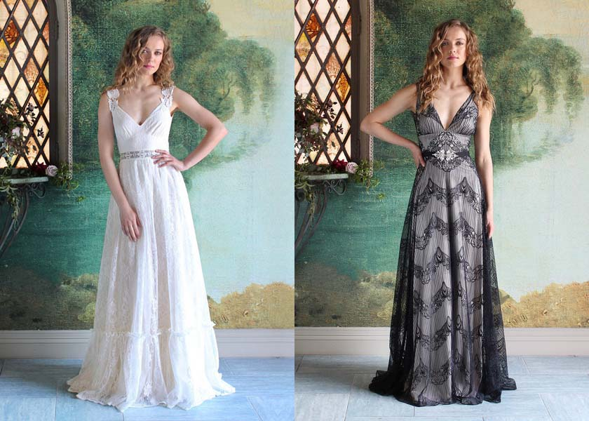 Romantique Wedding Dress Collection By Claire Pettibone