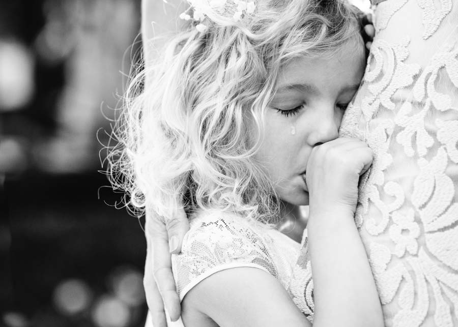 Photo Of The Day: Emotional Flower Girl Captured By Kari Bellamy