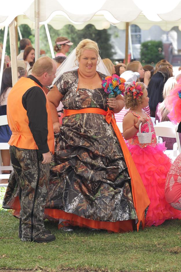 9 Ugliest Celebrity Wedding Dresses - Answers.com | OMG ...