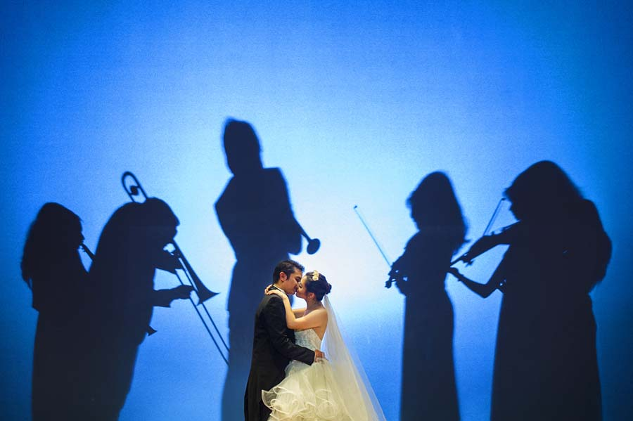 Photo Of The Day: Creative Musical Moment By Wedding Photographer Gary Evan