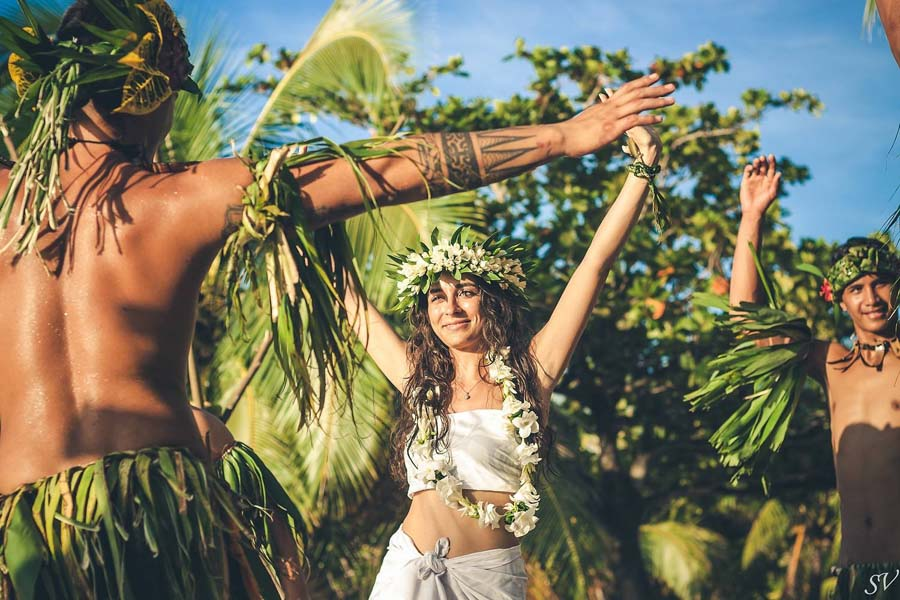 A French Polynesia Wedding By SV Photograph