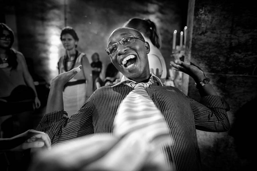 Photo Of The Day: A Funky Wedding Dance Moment By photoChic