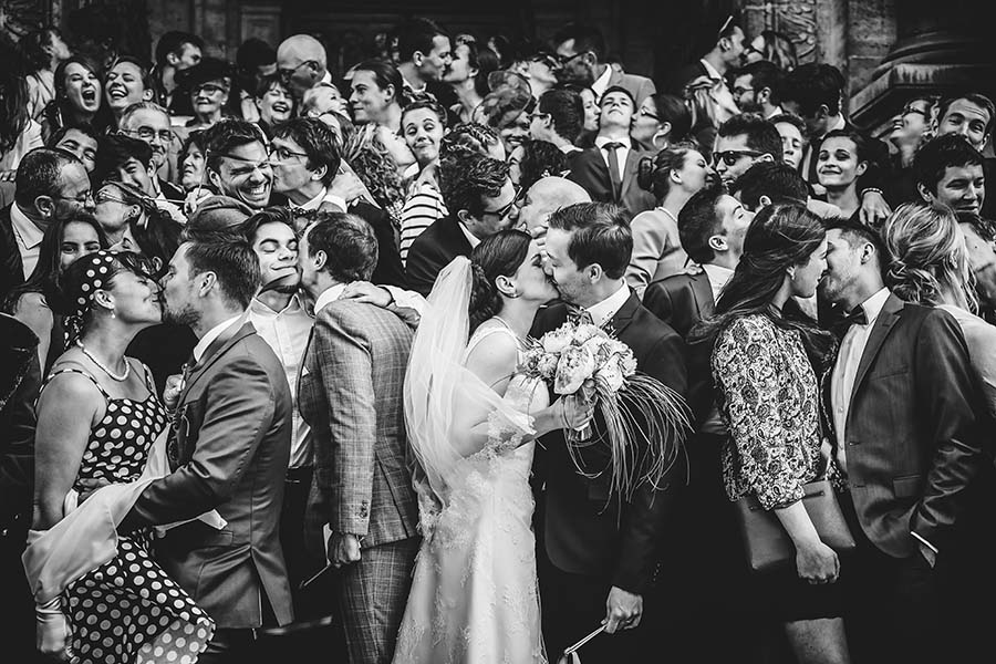 Photo Of The Day:  A Happy And Fun Wedding Guest Group Shot