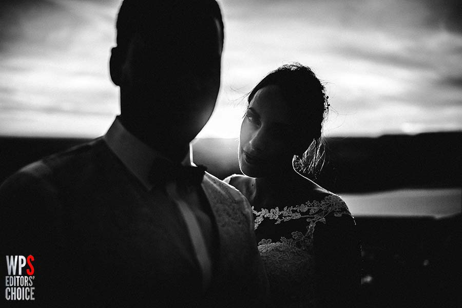 Photo Of The Day: A Beautiful Mysterious Bride and Groom Shot