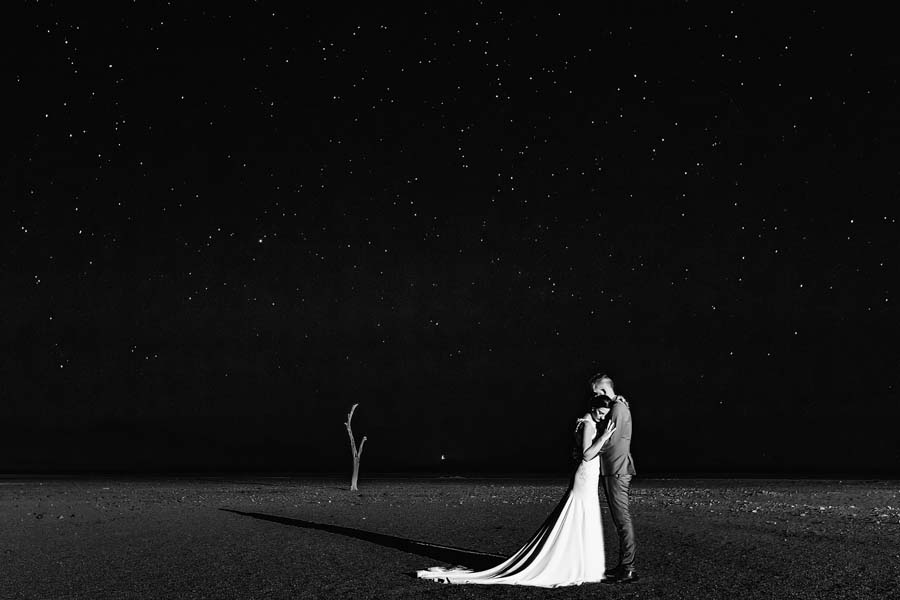 Photo Of The Day: Stunning Dessert Wedding Image By Raun Redelinghuys