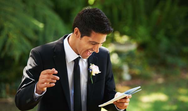 how to make the perfect wedding day speech